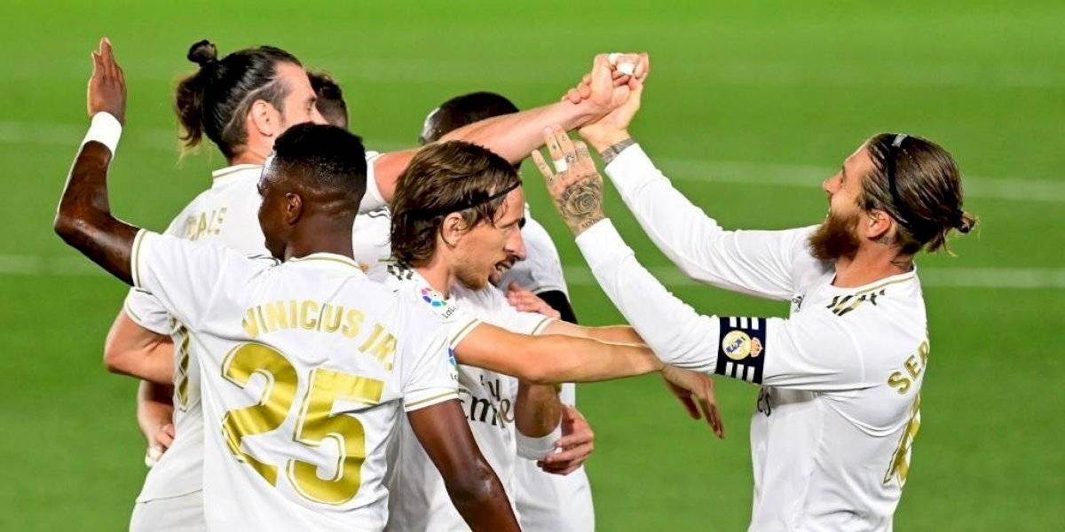 El Real Madrid no se complica y se mantiene como líder de la Liga