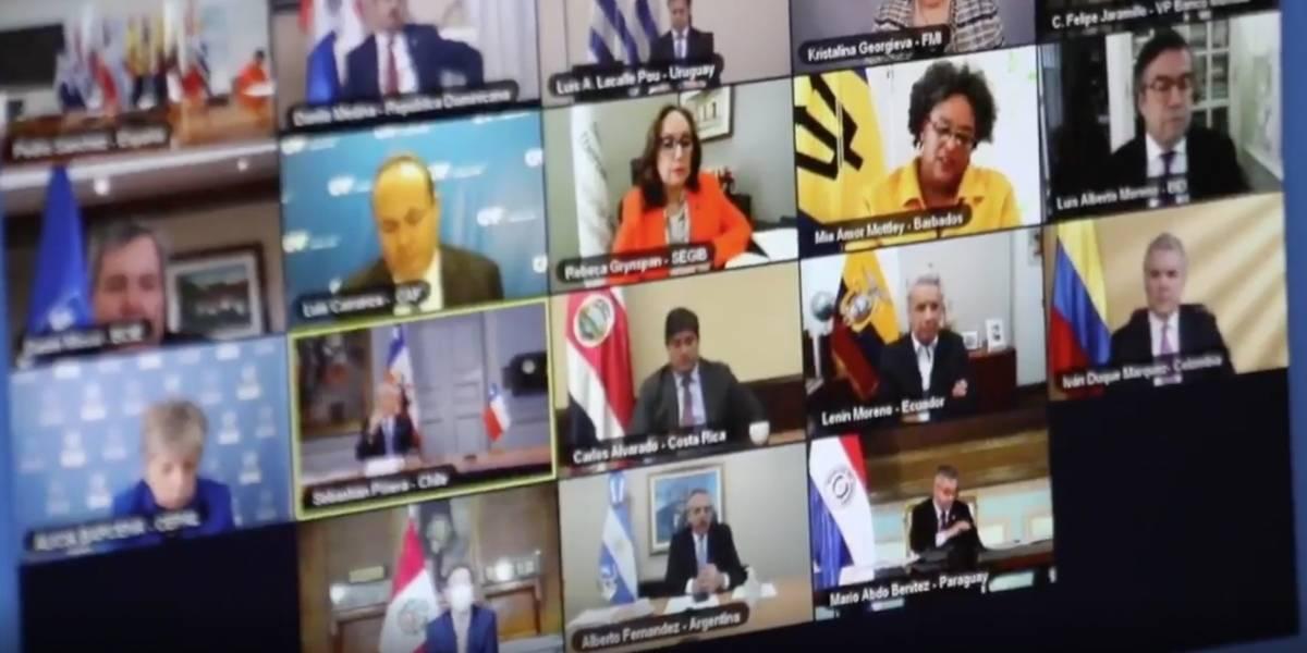 América Latina y El Caribe lanzan iniciativa para enfrentar impacto económico del COVID-19