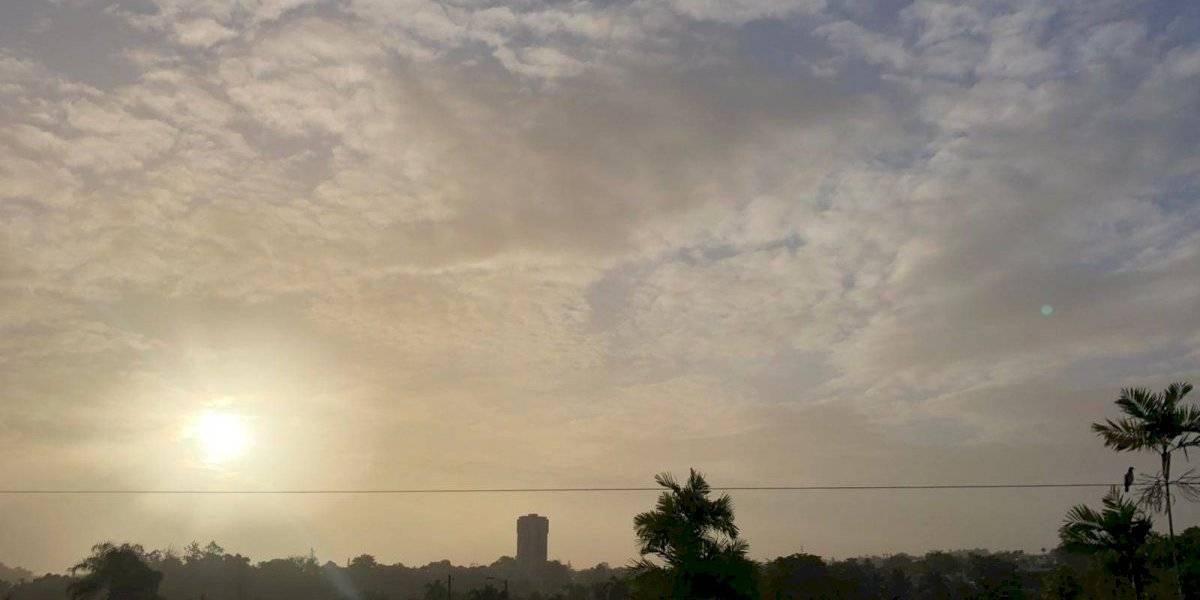 Se disipa un poco el Polvo del Sahara