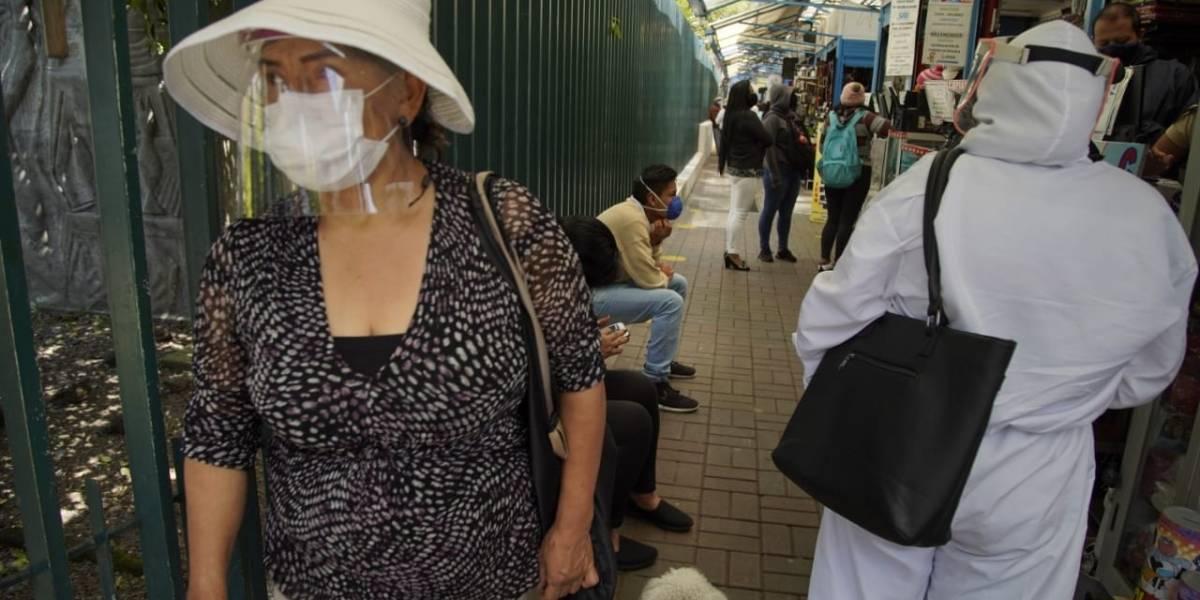 Quito registró más de 800 nuevos contagios en una semana; Ecuador llegó a los 55.665