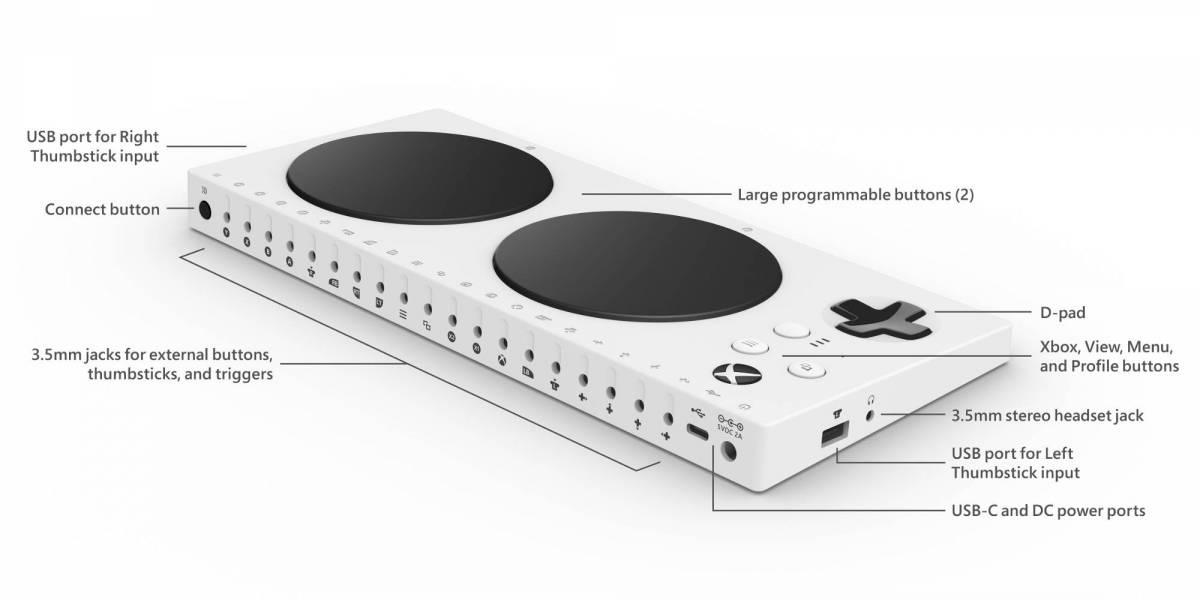 ¡Al fin! el Control Adaptable de Xbox llega a Chile