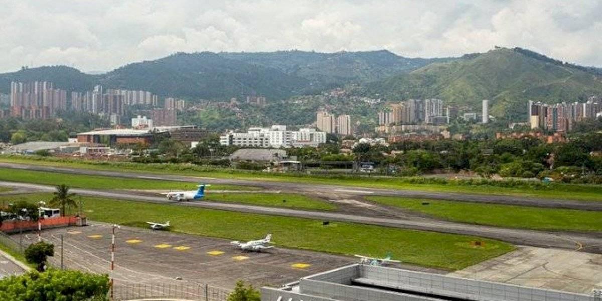 Esta es la petición del operador para la reapertura del aeropuerto Olaya Herrera
