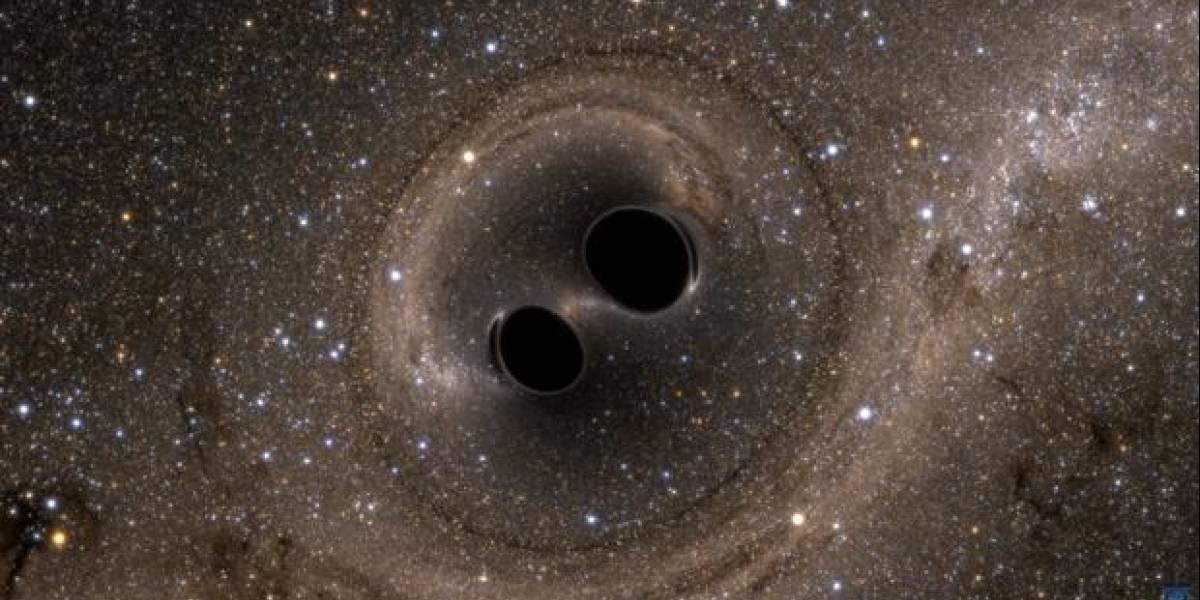Universo: astrónomos aseguran que un choque de agujeros negros emitió un destello de luz
