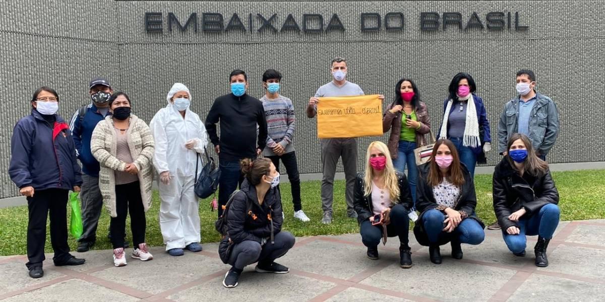 118 brasileiros aguardam repatriação no Peru há três meses
