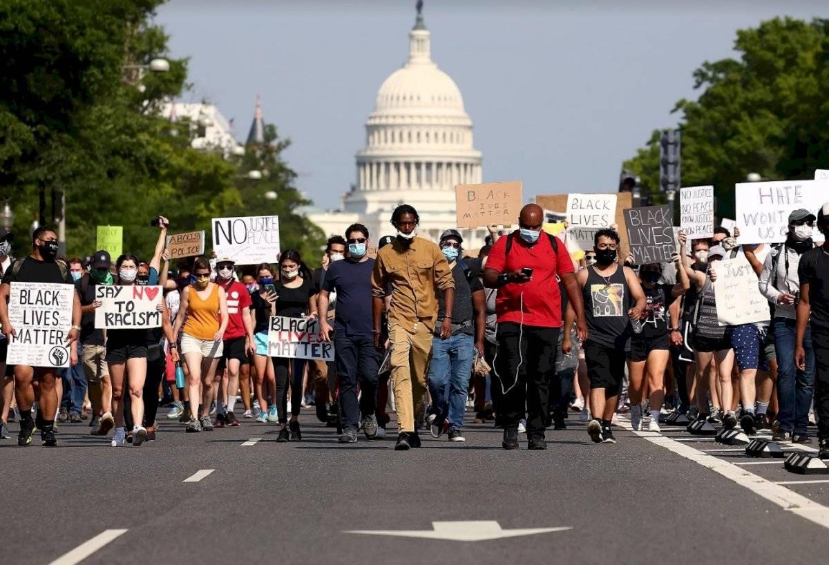 Manifestaciones contra el racismo