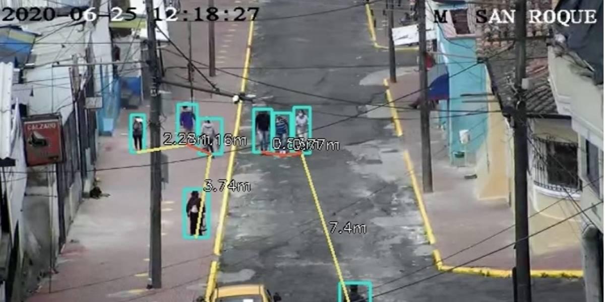 Así funcionará la alerta cuando cámaras del ECU 911 capten que no se cumple el distanciamiento