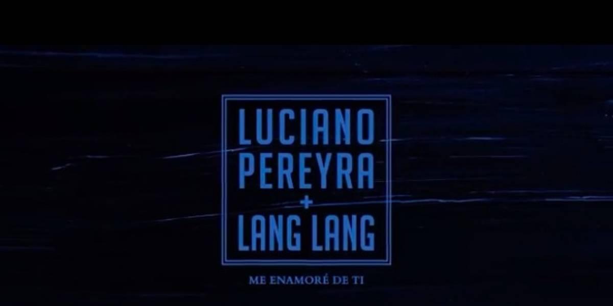 Lang Lang y Luciano Pereyra se unen en una versión inédita de 'Me enamoré de ti'