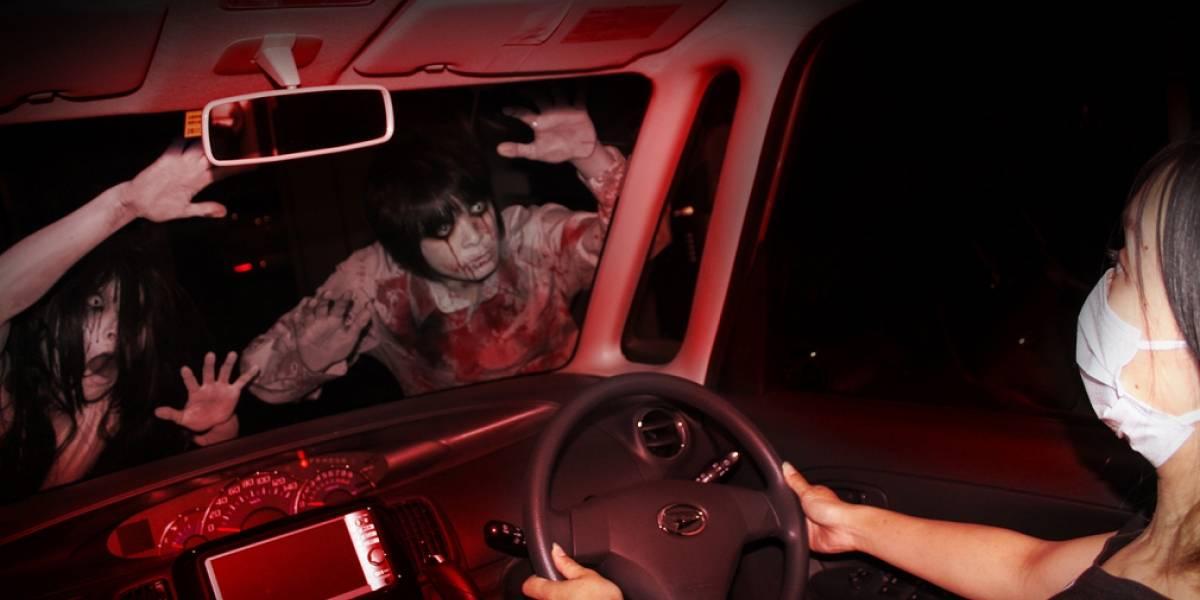 En Japón crean casa del terror a prueba de coronavirus: se entra en auto