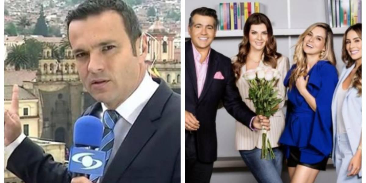 Juan Diego Alvira fue para risas en 'Día a Día'