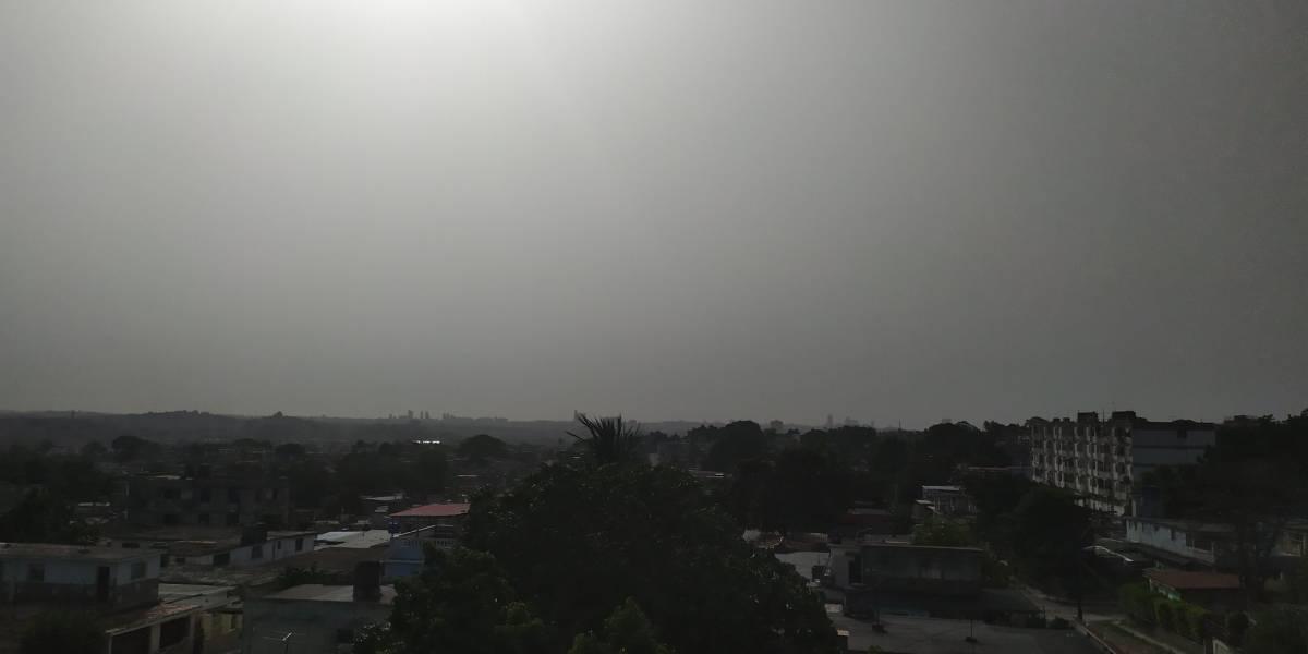 Ahora la nube de polvo del Sahara llegó hasta La Habana y Bogotá