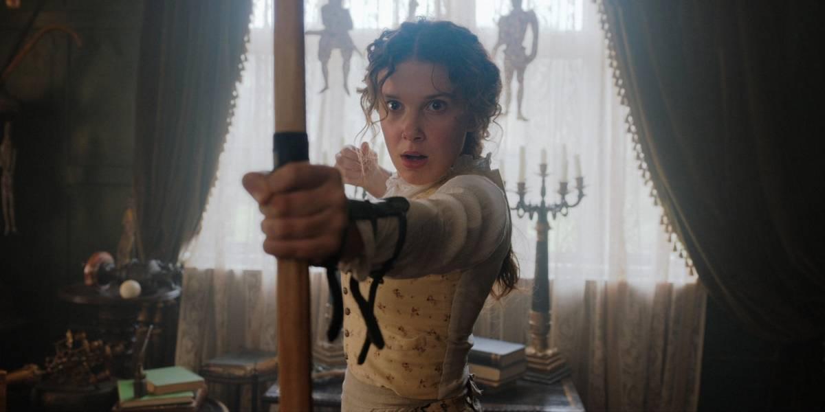 'Enola Holmes': Filme de mistério com Millie Bobby Brown estreia em setembro na Netflix