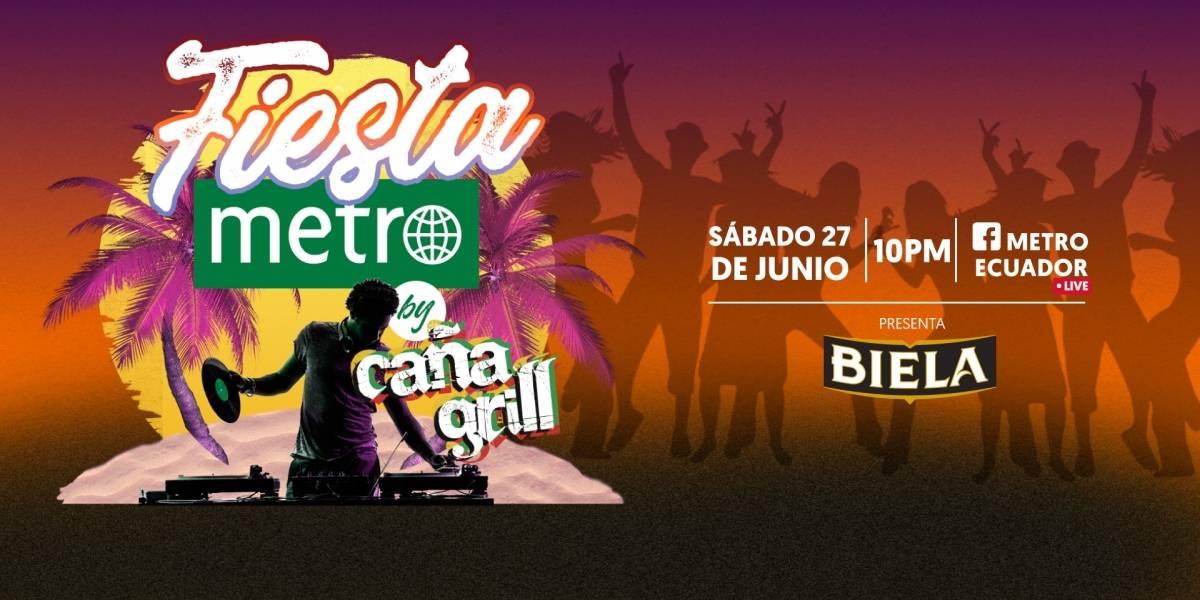 Fiesta Metro by Caña Grill encenderá nuevamente la noche desde Montañita