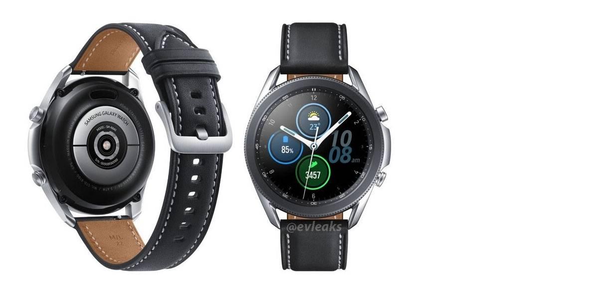 Samsung Galaxy Watch 3 se muestra en espectacular rénder