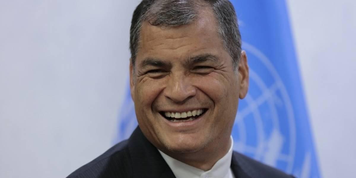 "Rafael Correa: ""Si me dejan, seré candidato a la Vicepresidencia"""