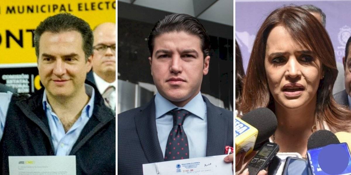 Adrián de la Garza, Samuel García y Clara Luz Flores son los principales candidatos, según encuestas