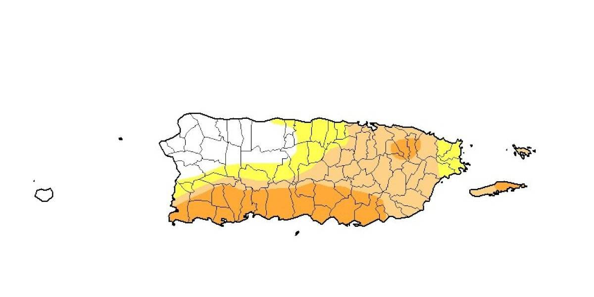 Se expande sequía moderada, mientras sequía severa y anómala muestran bajas