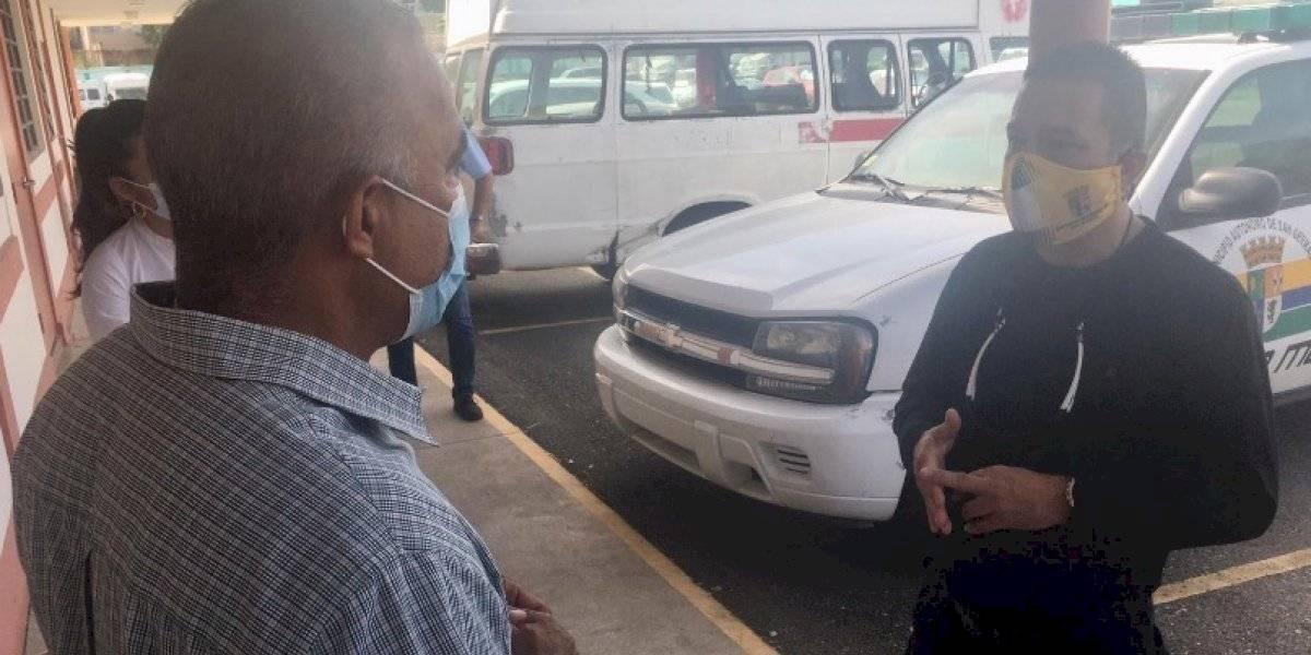 Secretario de Salud visita el pueblo de San Germán