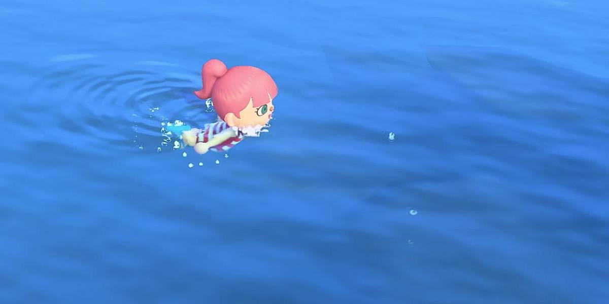 Animal Crossing: New Horizons te permitirá nadar dentro de poco