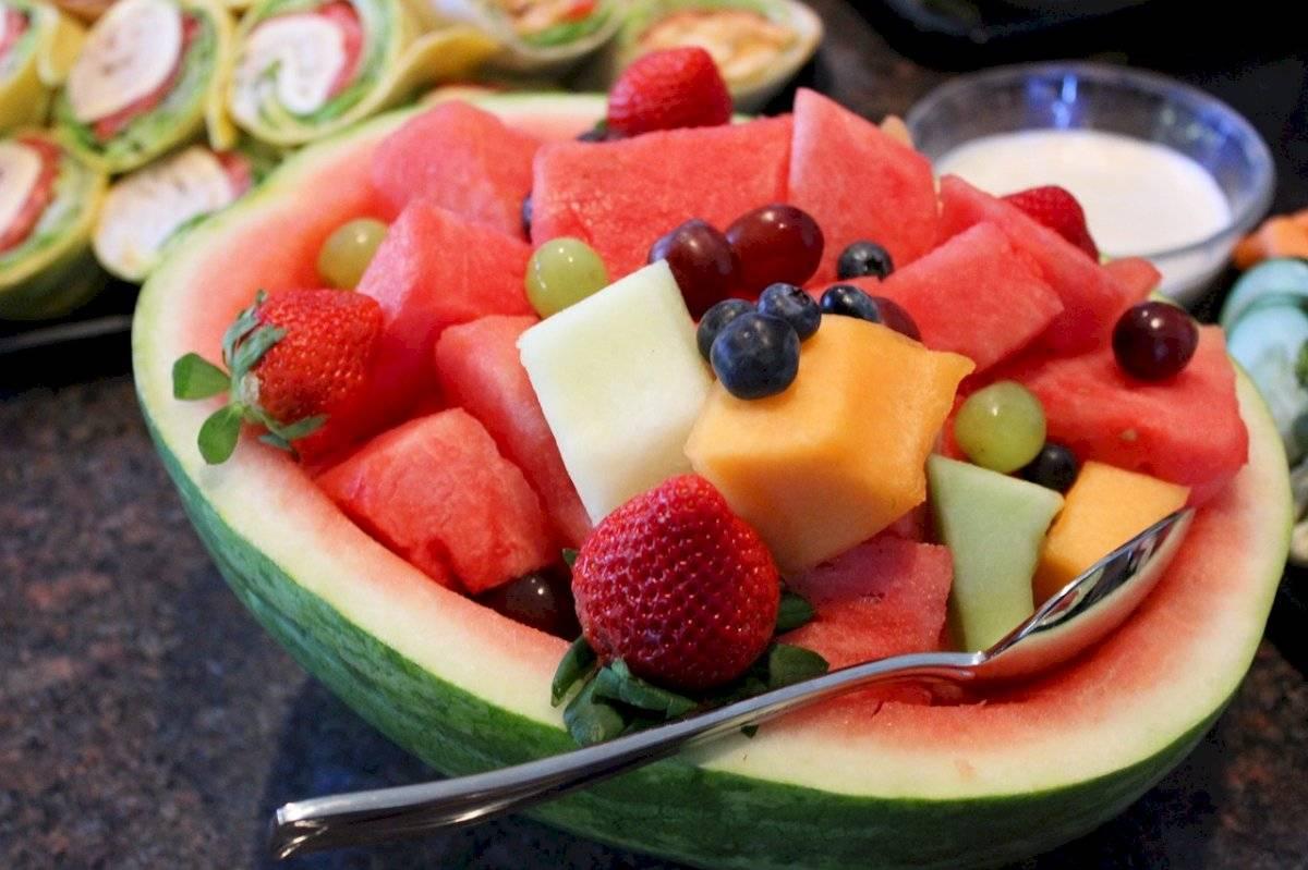 frutas servidas