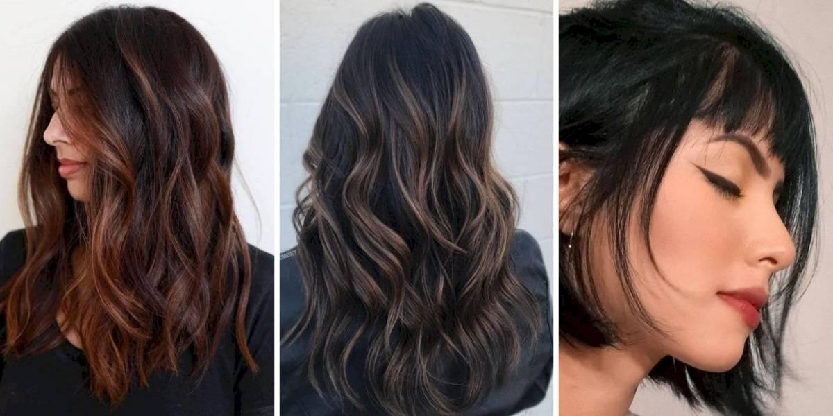 As 5 cores de cabelo escuro que serão tendência nesta temporada