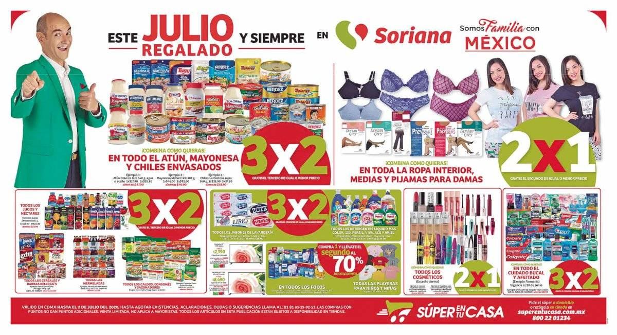 Anuncio Soriana edición CDMX del 26 de Junio del 2020, Página 11