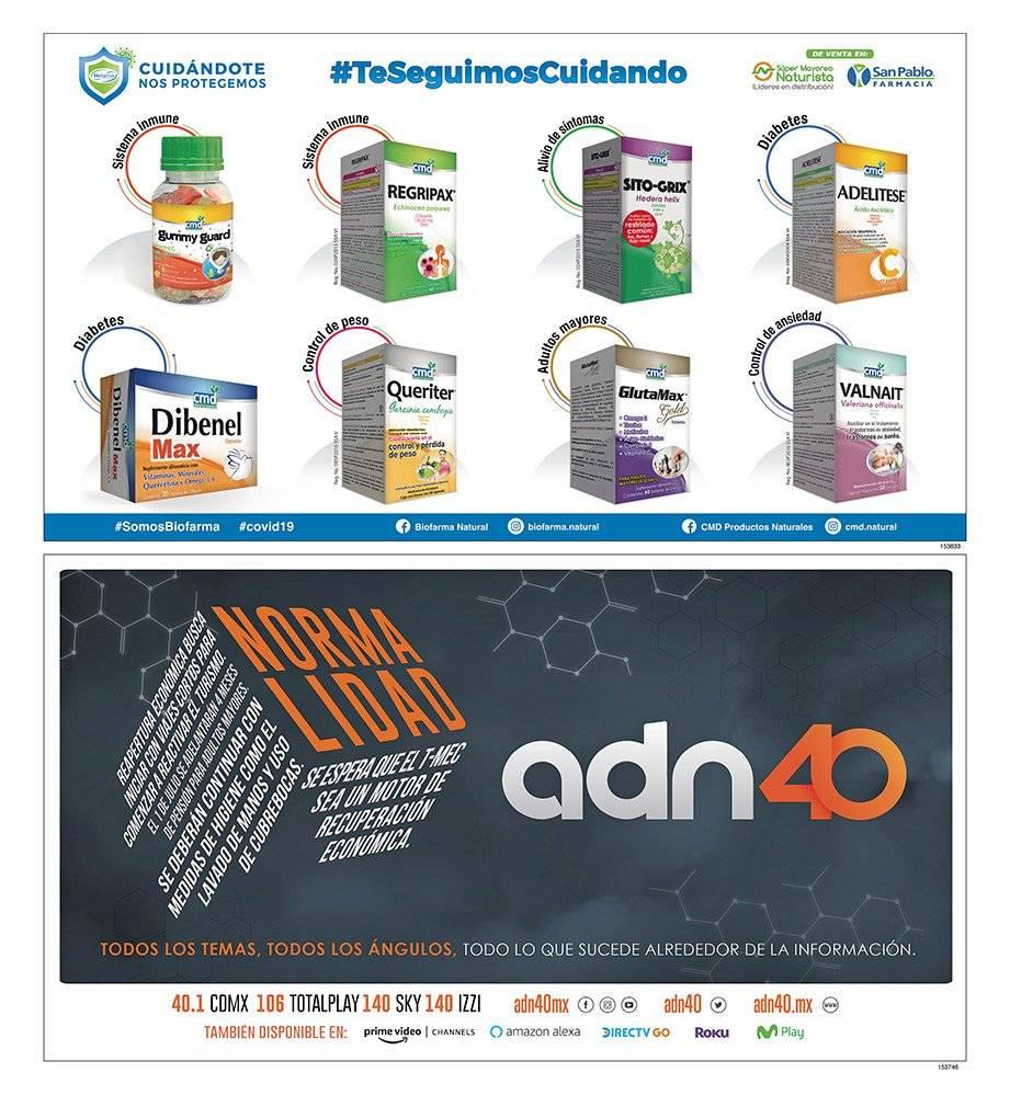 Anuncio Farmacia San Pablo edición CDMX del 26 de Junio del 2020, Página 17