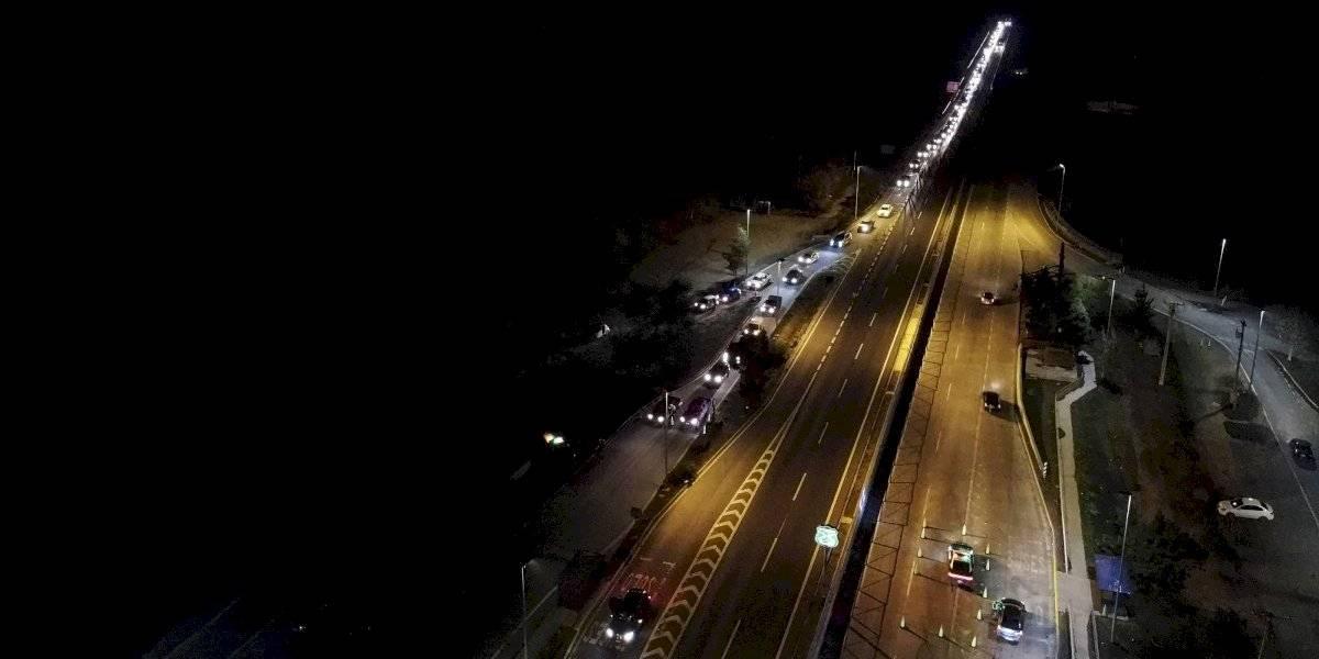 Unos 22 mil vehículos han salido de la capital previo al fin de semana largo