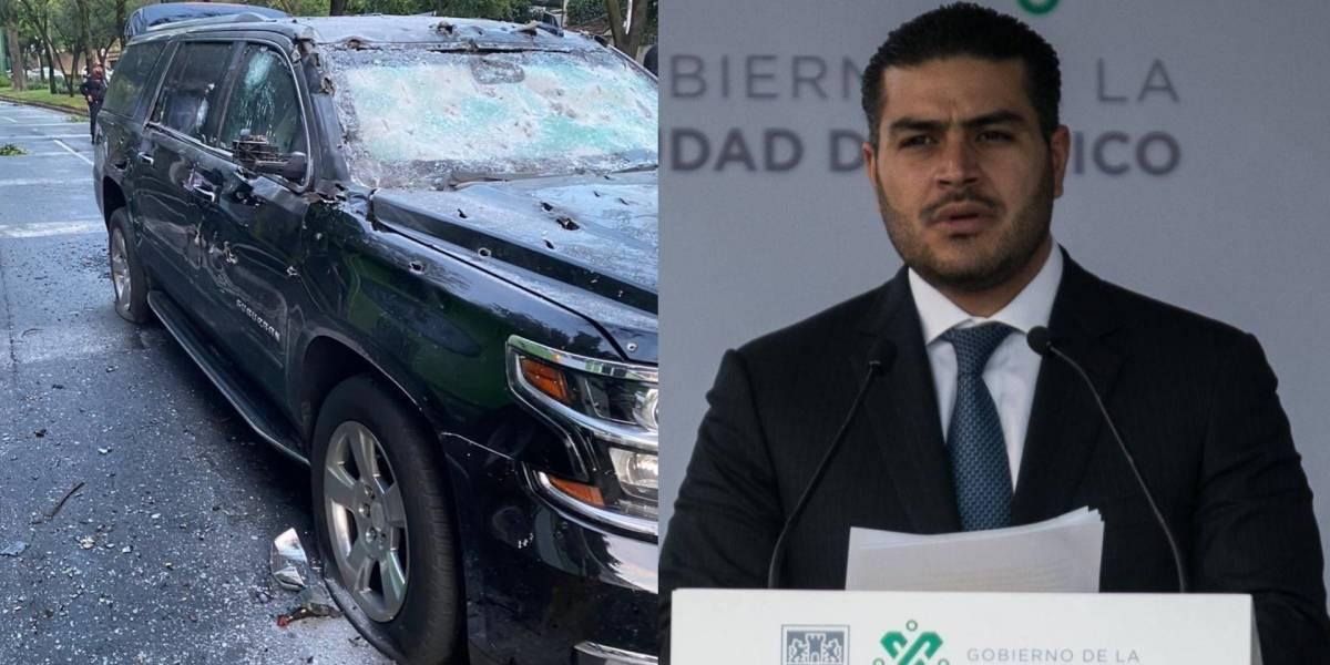 Operan por segunda vez a Omar García Harfuch; SSC designa encargado de despacho