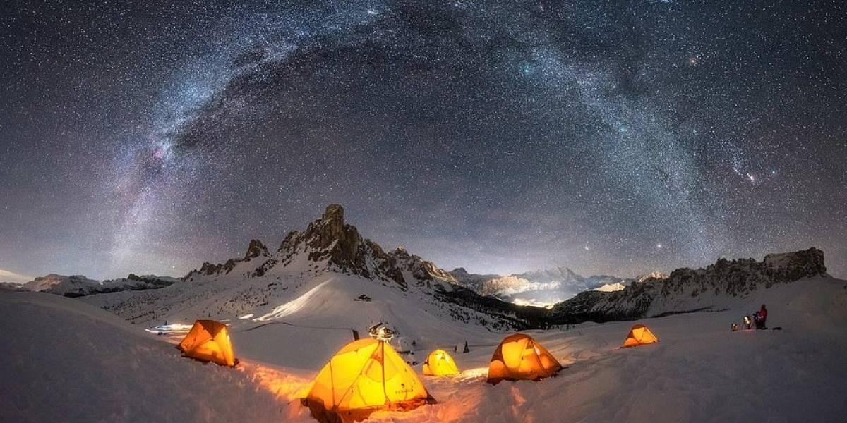 La competencia anual de astrofoto reveló espectaculares imágenes de la Vía Láctea capturadas desde la Tierra