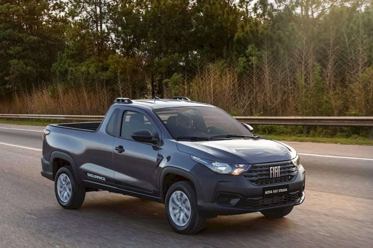 Nova Fiat Strada Endurance Cabine Plus Reprodução