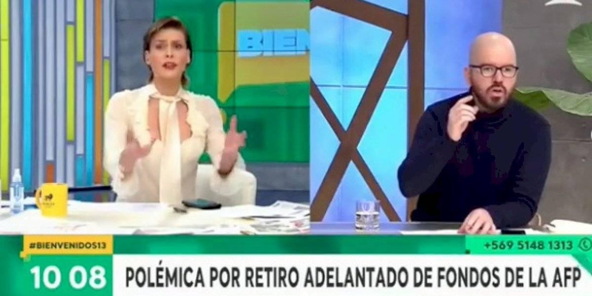 """Difícil mañana en """"Bienvenidos"""": Tonka y Gómez-Pablos se enfrentaron con Jackson y Moreira"""
