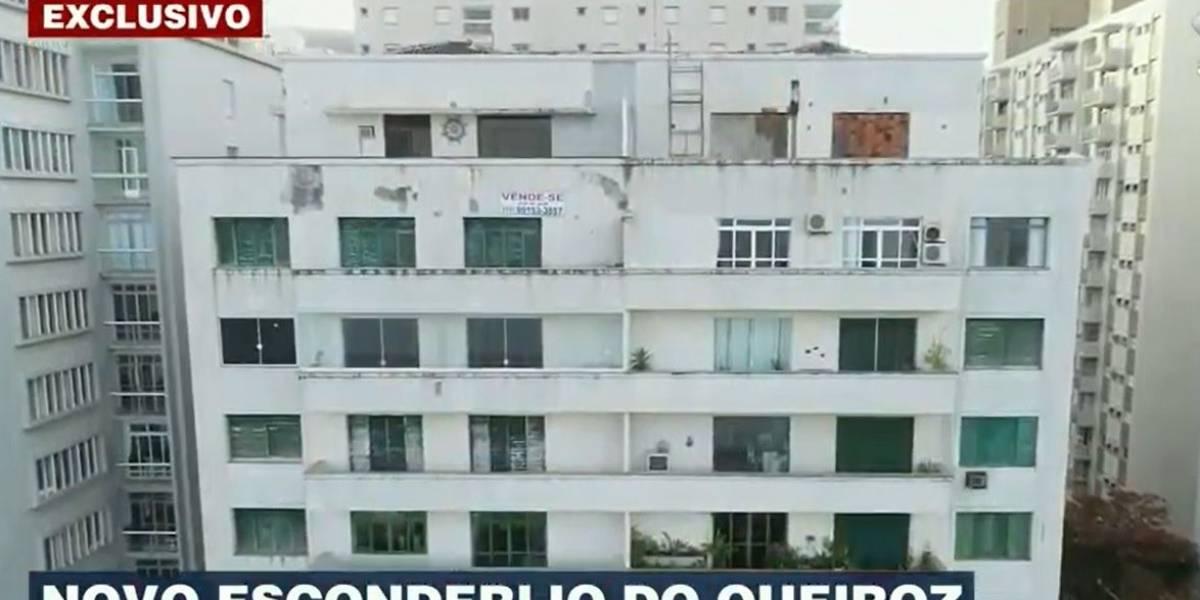 Queiroz também ficou escondido em apartamento de Wassef em Guarujá