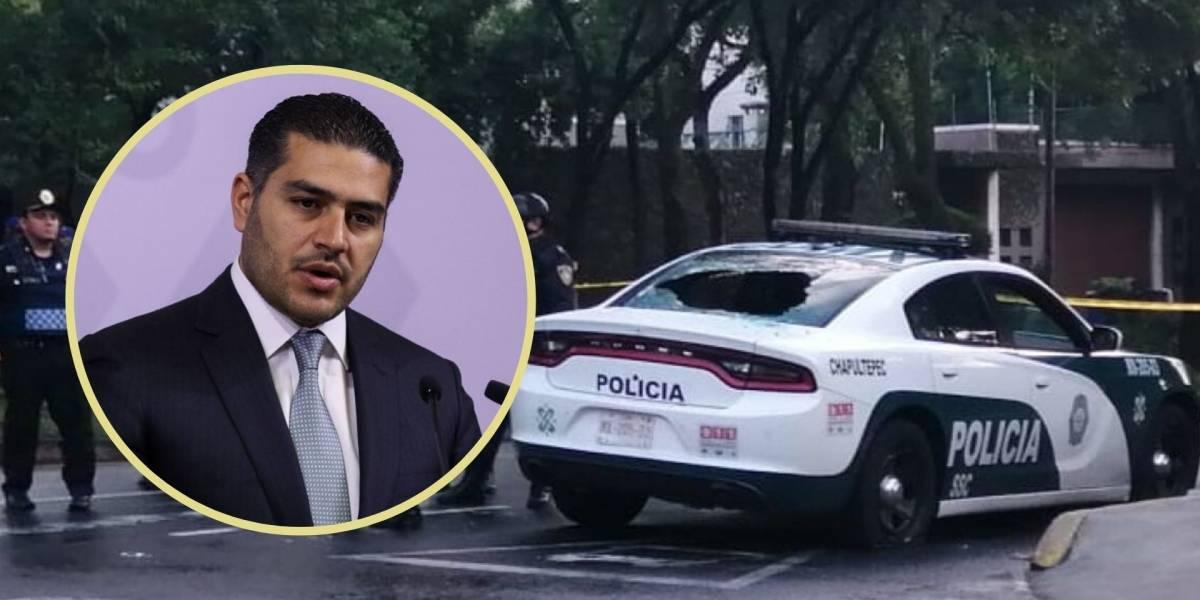 Atentan contra Omar García Harfuch, titular de la SSC CDMX