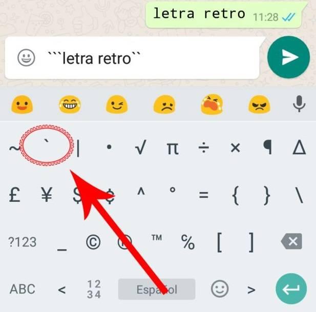 Letras WhatsApp