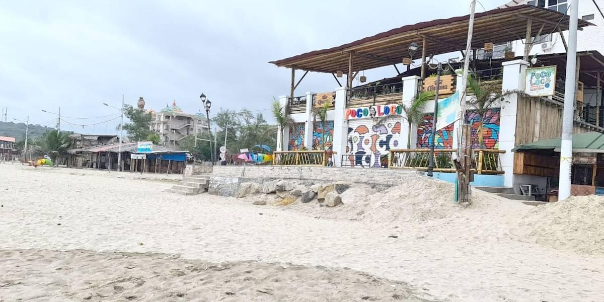 Empresarios de Montañita hacen un llamado al turismo ordenado