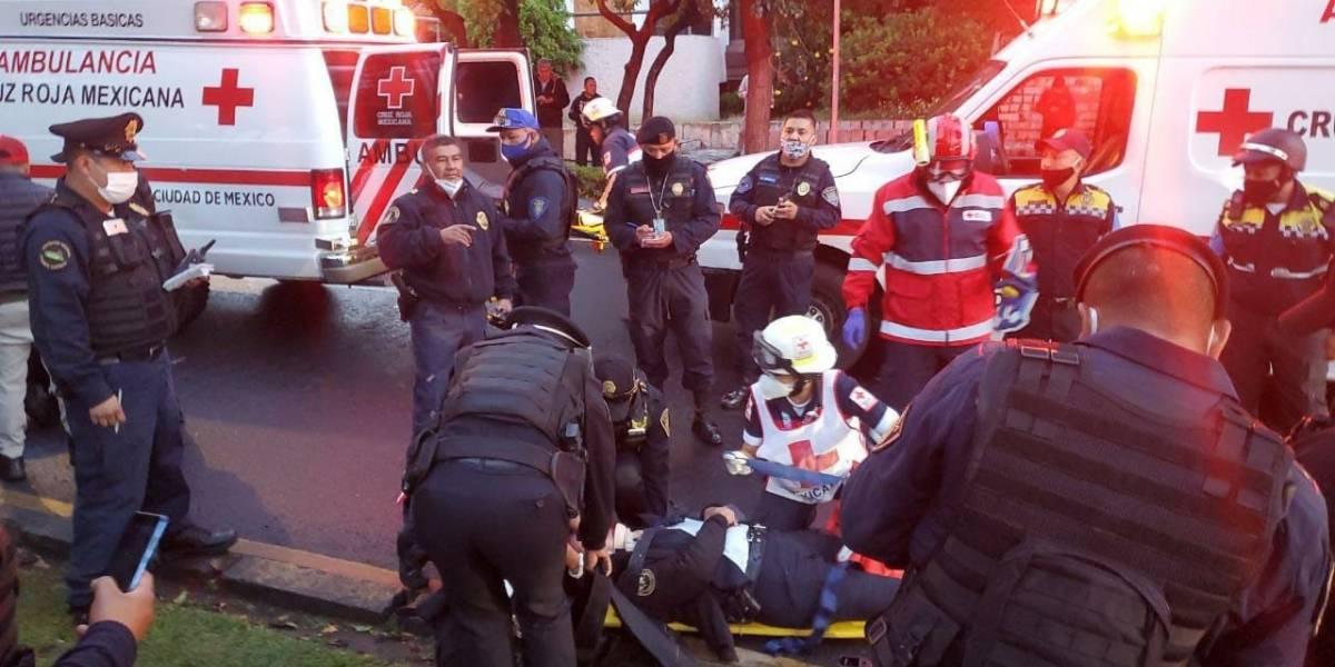 Fotos del atentado contra Omar García Harfuch, secretario de Seguridad Ciudadana en la CDMX