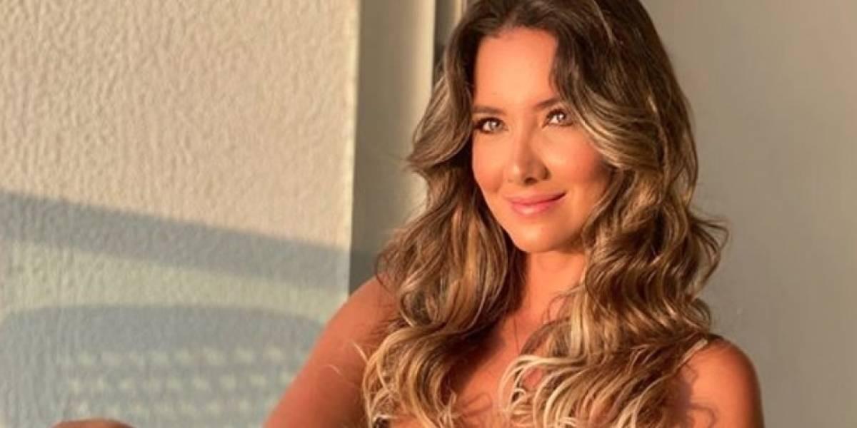 Tras 42 días, Daniella Álvarez salió de la clínica y confirma que regresó con su novio