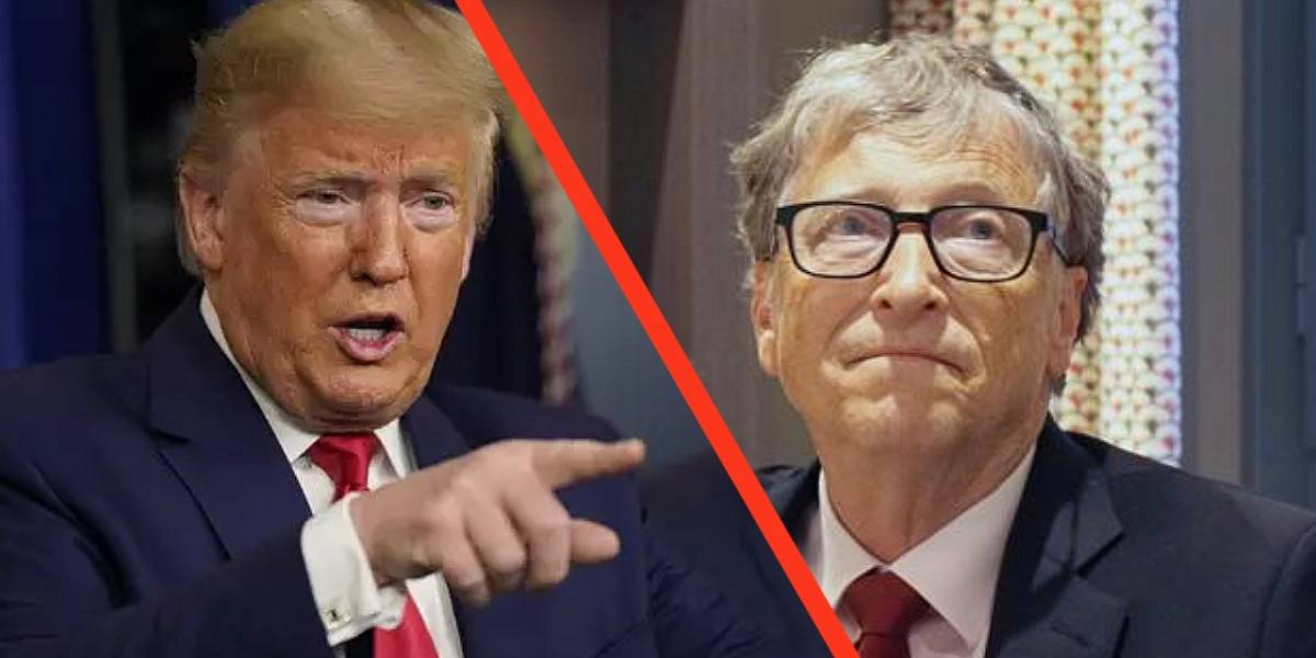 Coronavirus: Bill Gates dice que la transición de Trump está complicando la entrega de vacunas