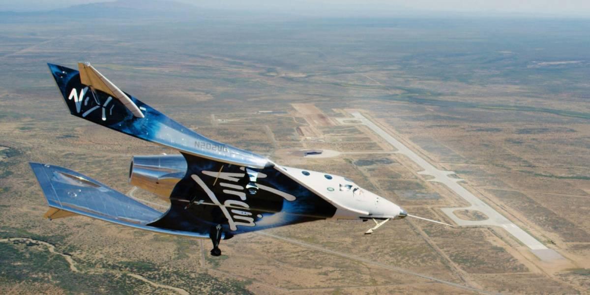 Virgin Galactic: SpaceShipTwo completó su segunda prueba con éxito y se preparan para un vuelo propulsado