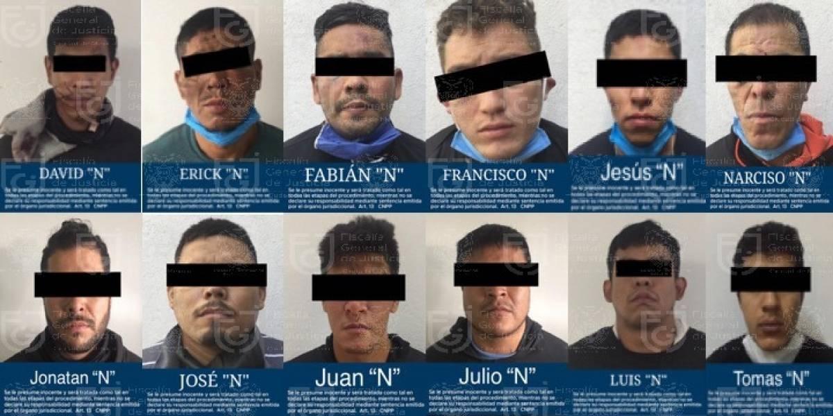 Dan prisión preventiva a 12 implicados en atentado contra Omar García Harfuch