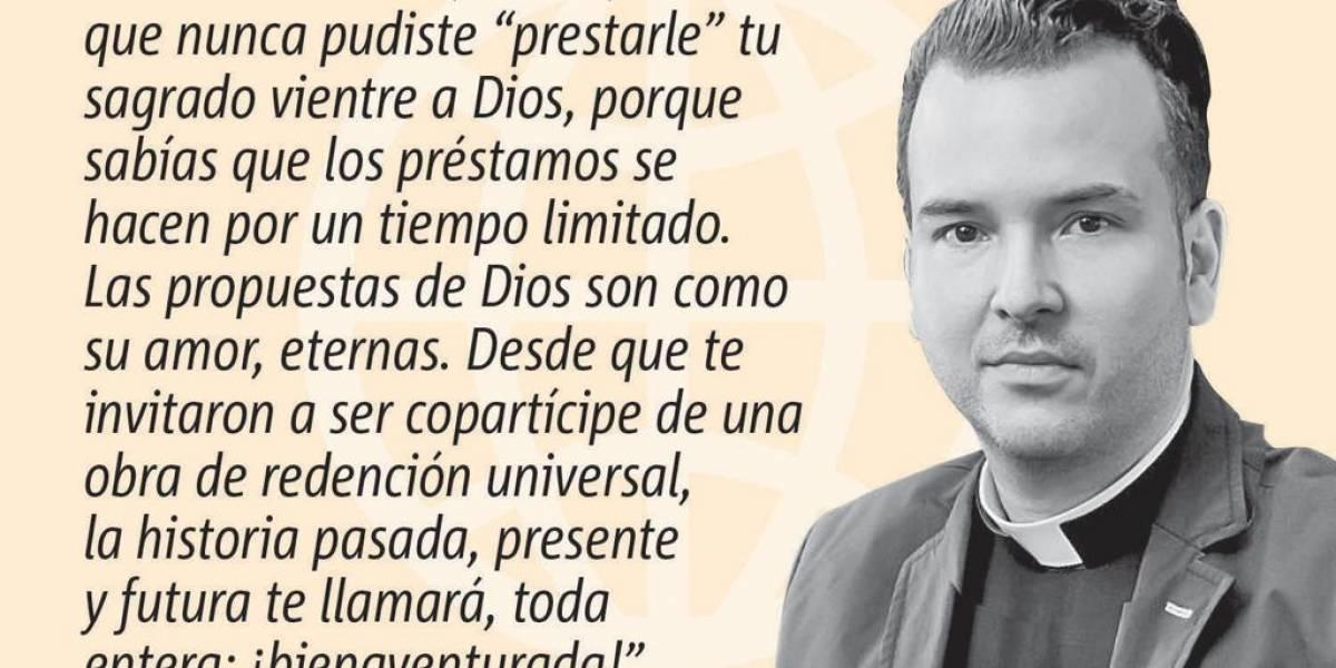 Opinión del Padre Orlando Lugo: ¡Que viva el vientre de María!