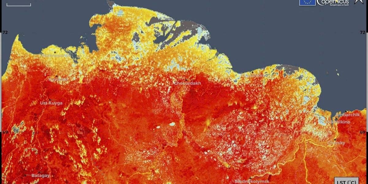 Se quintuplican incendios forestales en Rusia