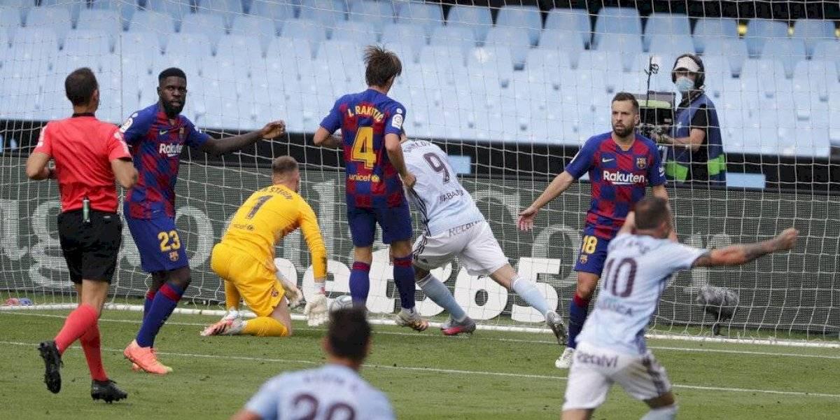 A última hora le empataron al Barcelona que complica sus opciones al título