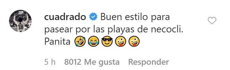 Juan Guillermo Cuadrado invitó a Cristiano Ronaldo a Necoclí
