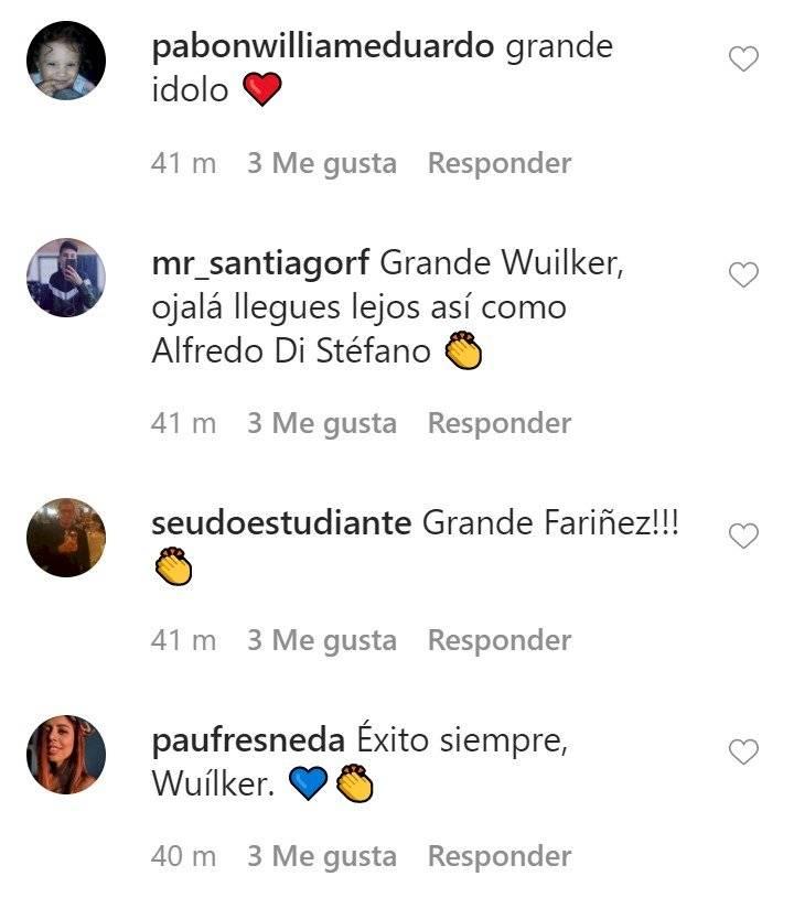 mensaje de Wuilker Fariñez por su salida de Millonarios