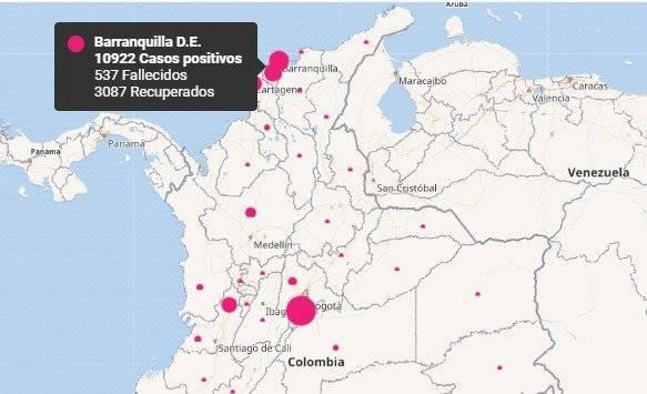 Coronavirus Barranquilla 26 de junio 2020