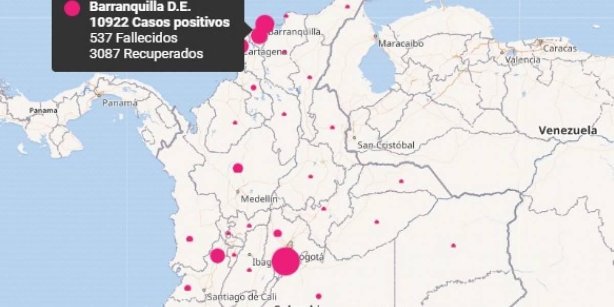 Colombia superó a China en número de contagios de coronavirus