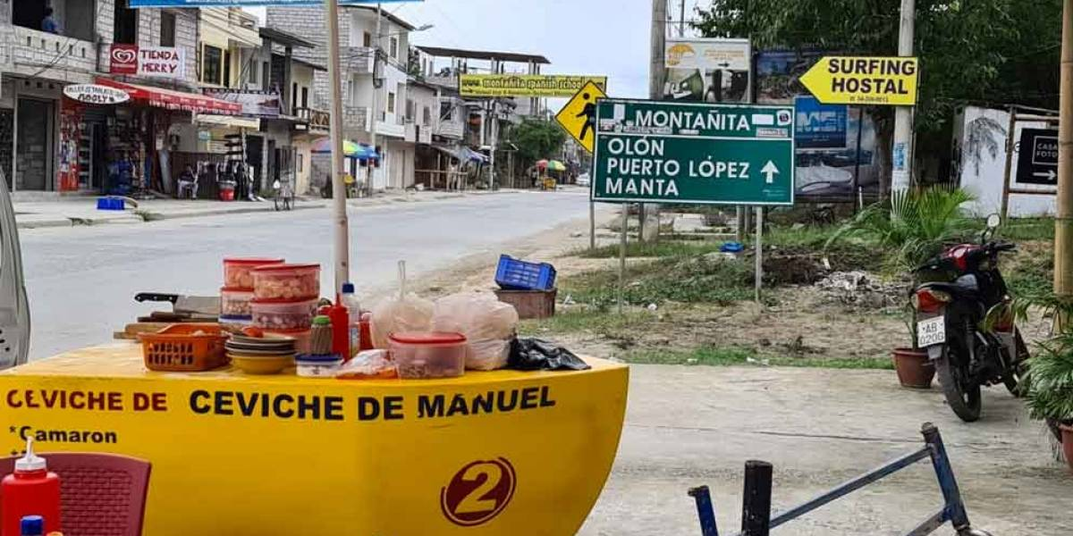 El ceviche de carreta, el plato bandera de Montañita