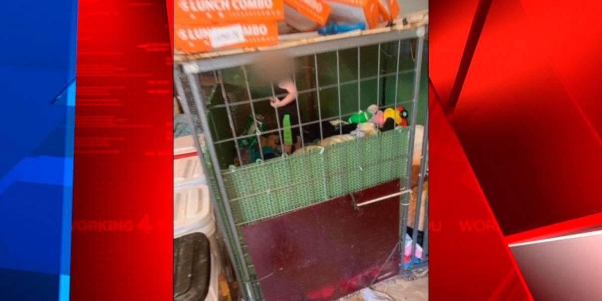 Criança era mantida em jaula com cobras e ratos
