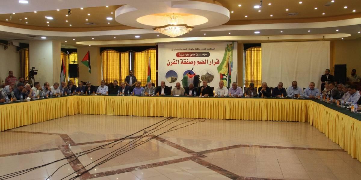 """O.Próximo.- Las facciones de Gaza declaran el 1 de julio un """"día de la ira"""" contra el plan de anexión israelí"""
